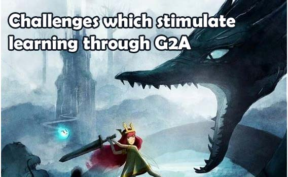 Challenges which stimulate learning through G2A